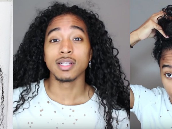 Giovanni Ferrer-long-hair-youtube-natural-hair-male-vlogger