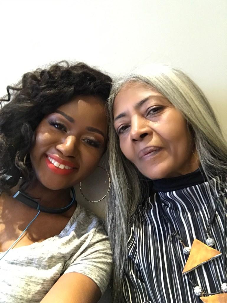 Grey Haired Black Women