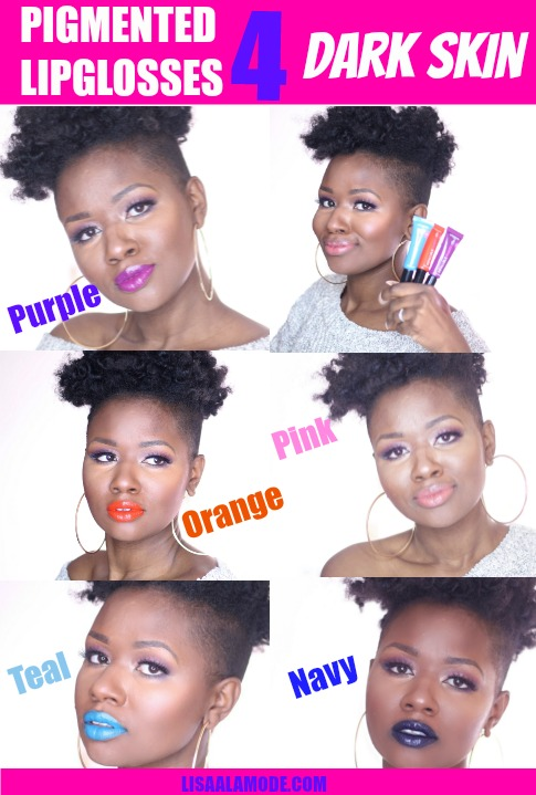 L'oreal Infallible Lip Paints review on dark skin-PINTEREST