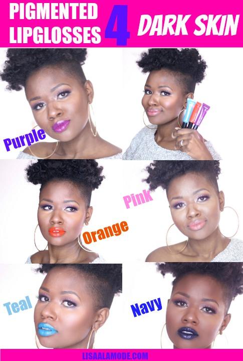 L'oreal Infallible Lip Paints review on dark skin-PINTEREST