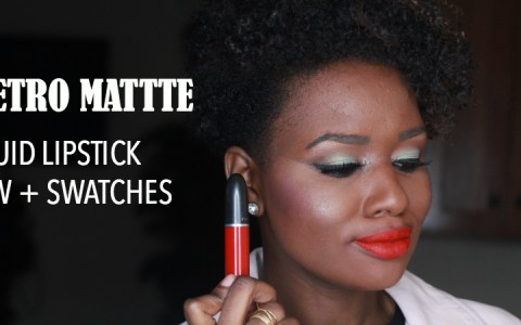 M·A·C Retro Matte Liquid Lipcolour