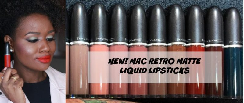 New! Introducing The New Mac RetroMatte Liquid Lipstick Collection