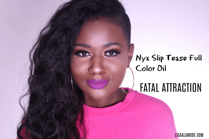 Nyx Slip Tease Full Color Oil-REVIEW
