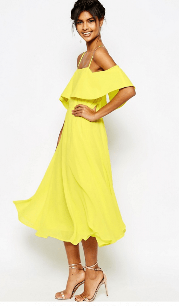 Four Yellow Beyonce Lemonade Inspired Dresses You Need Now