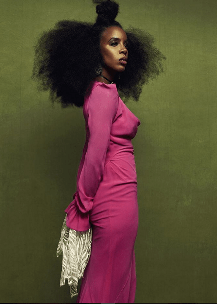 Kelly Rowland Poses For 'Schön! Magazine