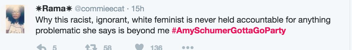 #AmySchumerGottaGoParty