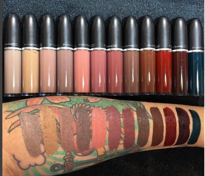 new-mac-retromatte-liquid-lipstck-swatches