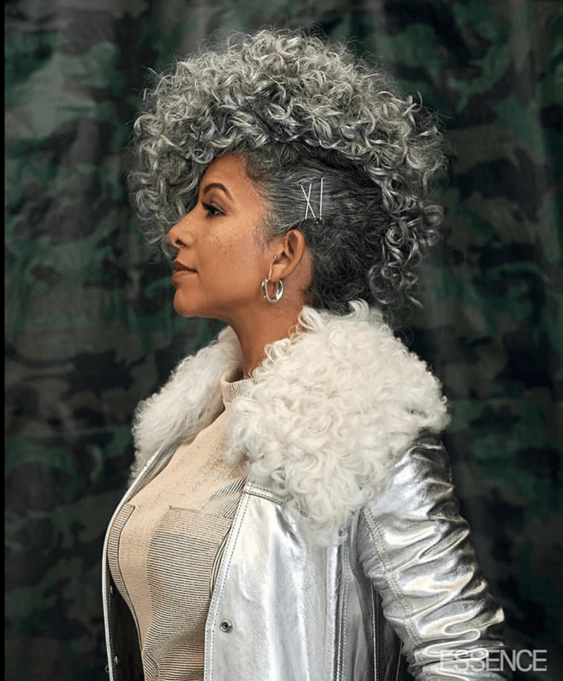 Essence Mag Honors The Beauty of Natural Gray Hair In Their Feb '19 Issue