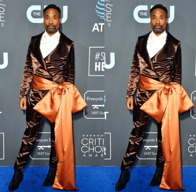 Billy Porter Fashion Look