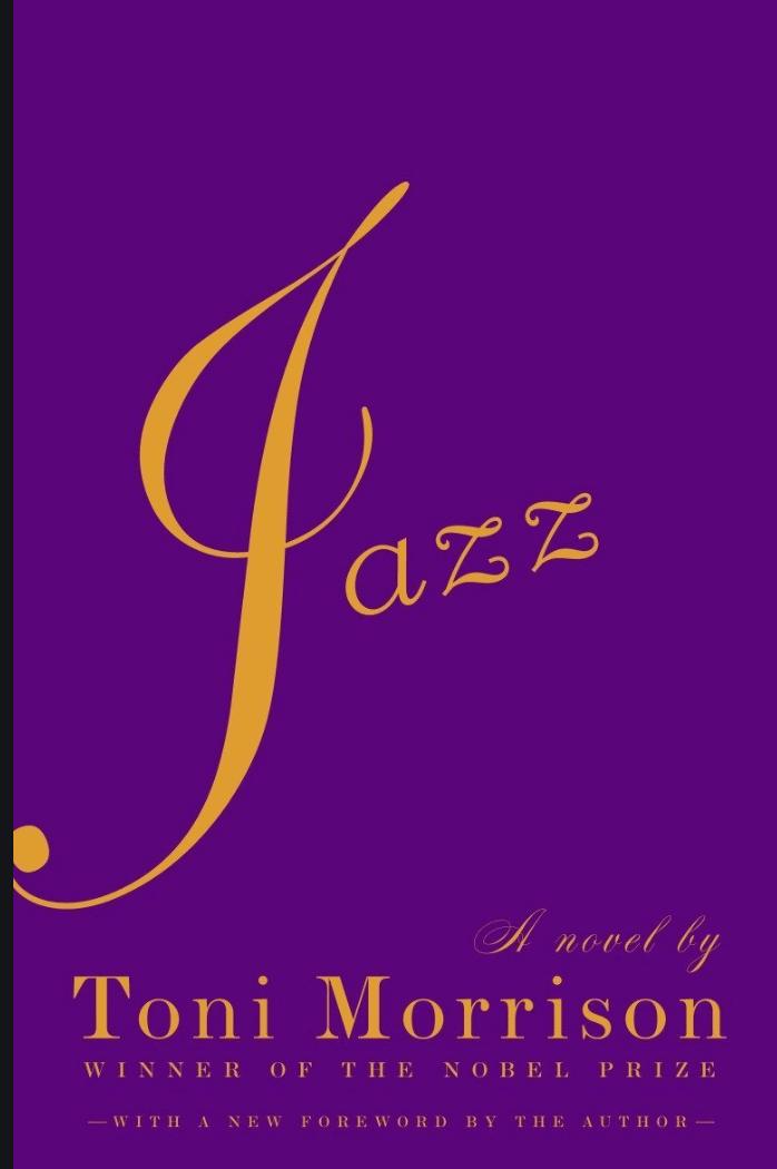 jazz book by Toni Morrison