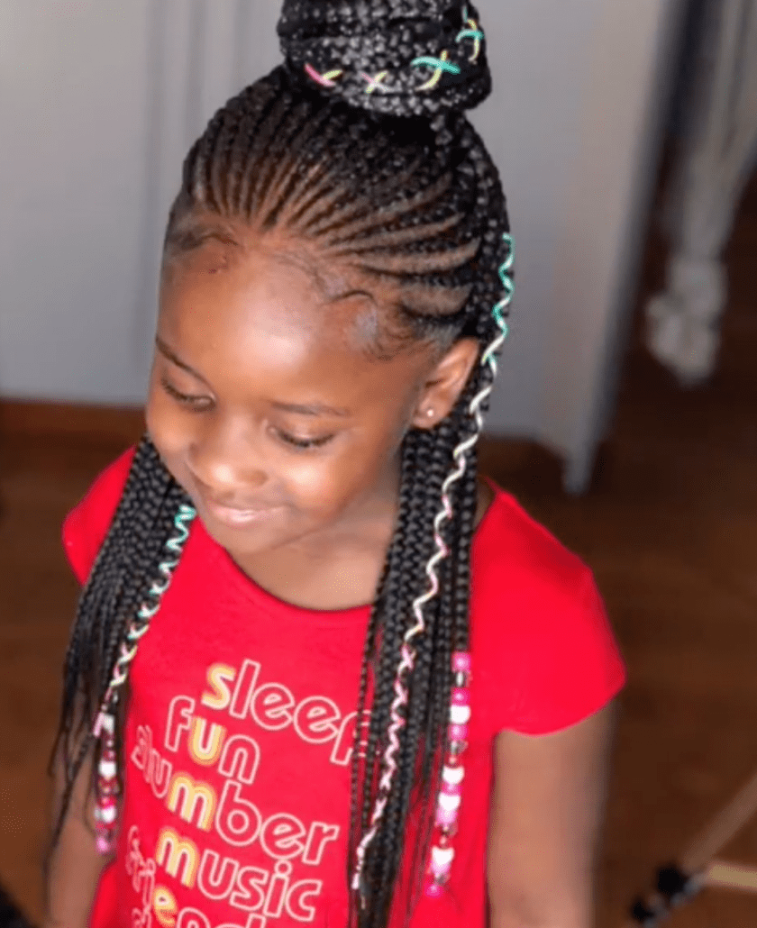43 Braid Hairstyles For Little Girls With Natural Hair ,