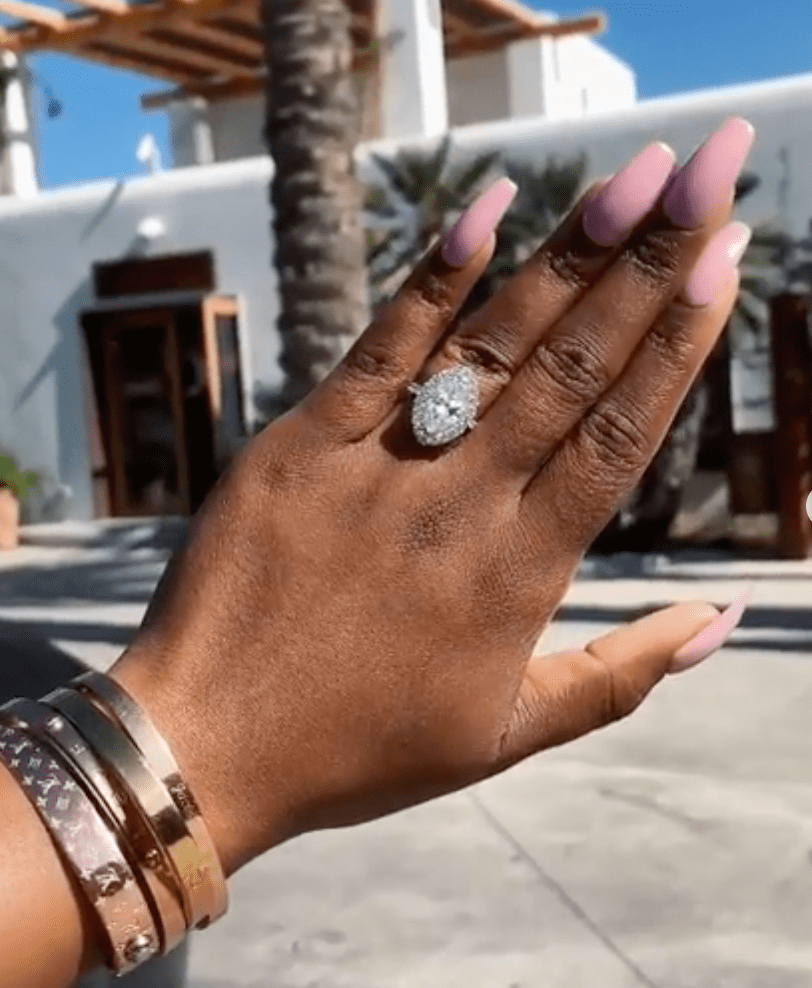 jackie aina engagement ring