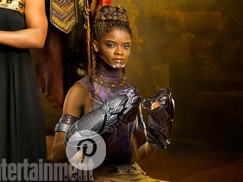 SHURI-Letitia Wright, Black Panther