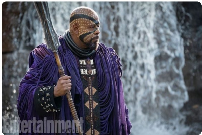 ZURI-Forest Whitaker's, Black Panther