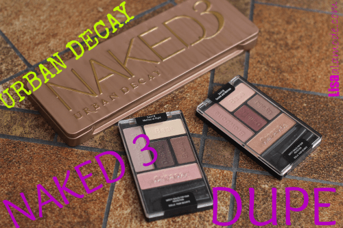 Naked 3 Dupe: Wet N Wild Addition