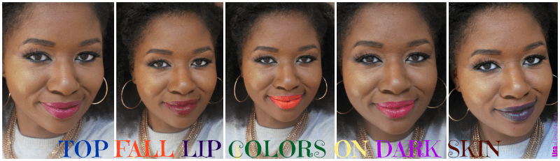 fall-lip-colors-on-dark-skin