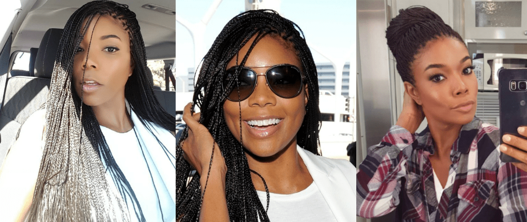 Gabrielle Union Looks So Young In Braids It Literally