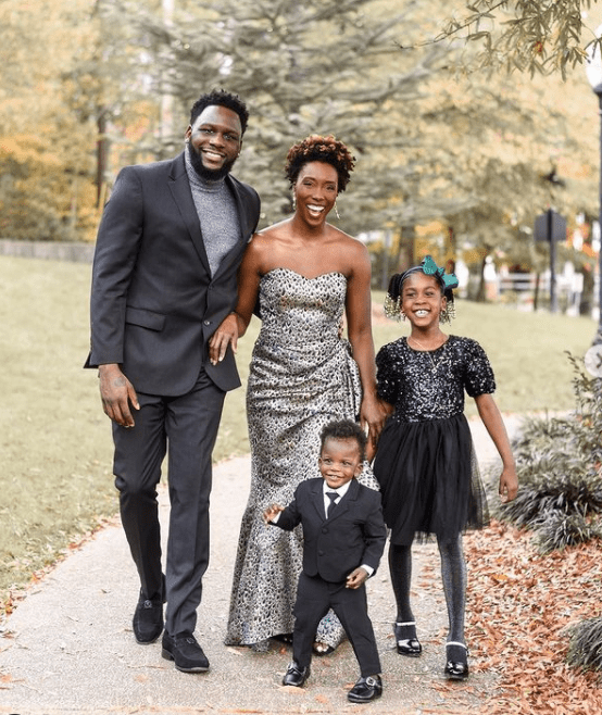 black family photos for the holidays