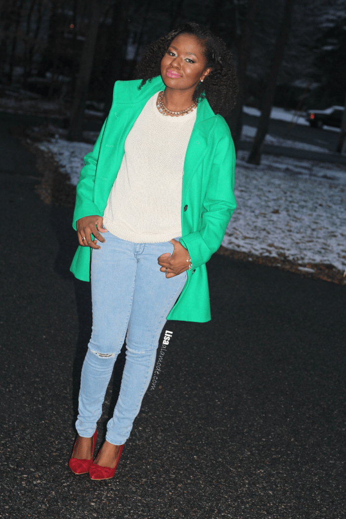 how-to-style-a-green-coat