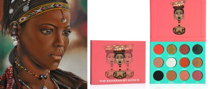 #BuyBlack: This New Eyeshadow Palette Was Inspired By The Fulani People of Africa