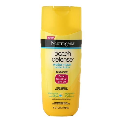 best sunscreen for dark skin neutrogena beach defense