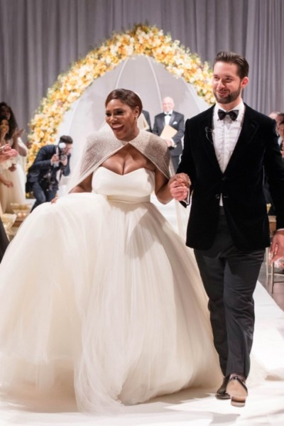 Serena Williams is Married and The Wedding Was EVERYTHING [PICS INSIDE]