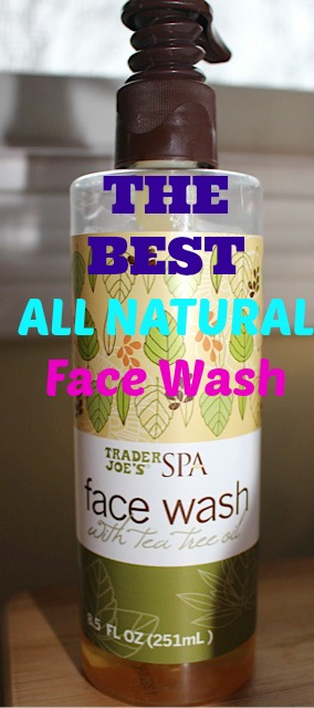 Best All Natural Facewash For Removing Makeup