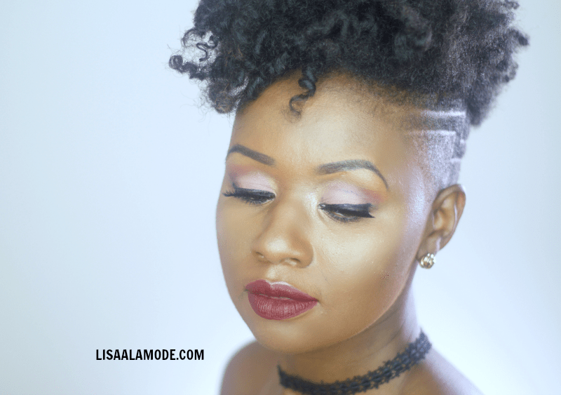 Color Icon Matte Liquid Lipstick-how-fleek-is-your-love-swatch-dark-skin