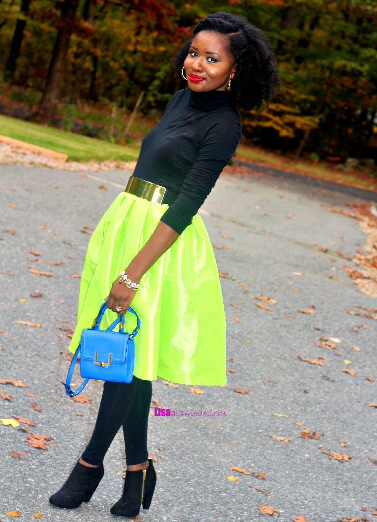 what-to-wear-neon-skirt