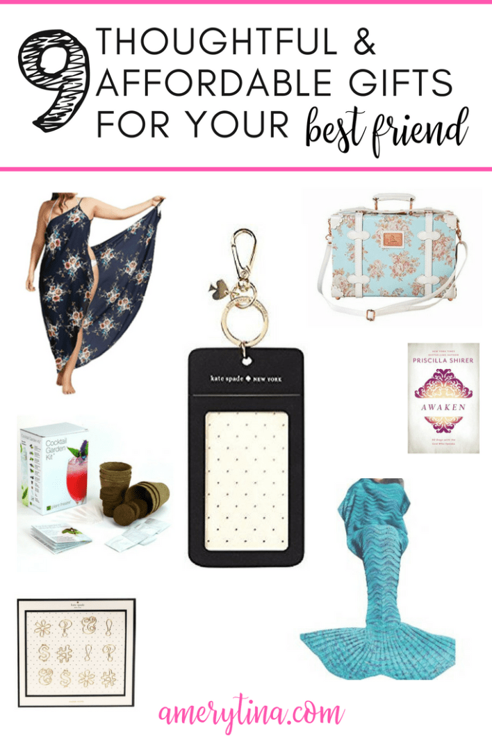 9 thoughtful and affordable gifts for your girl friend #giftguide #gift #girlfriend #shopping