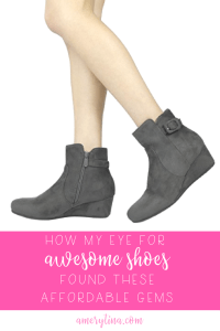 My 30-year shoe obsession has proved a skill is picking cute, comfort, chic and cheap shoes!