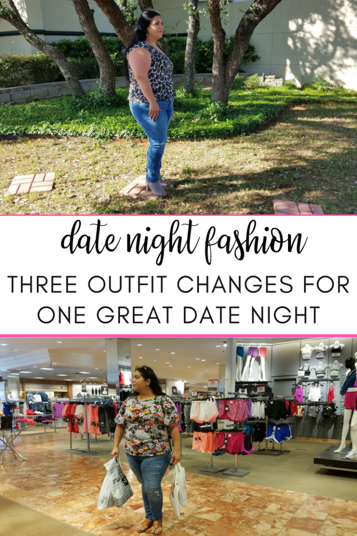 Date night fashion: three outfit changes for one great date night #fashion #style #styletip #datenight #datenightoutfit #curvy #ps