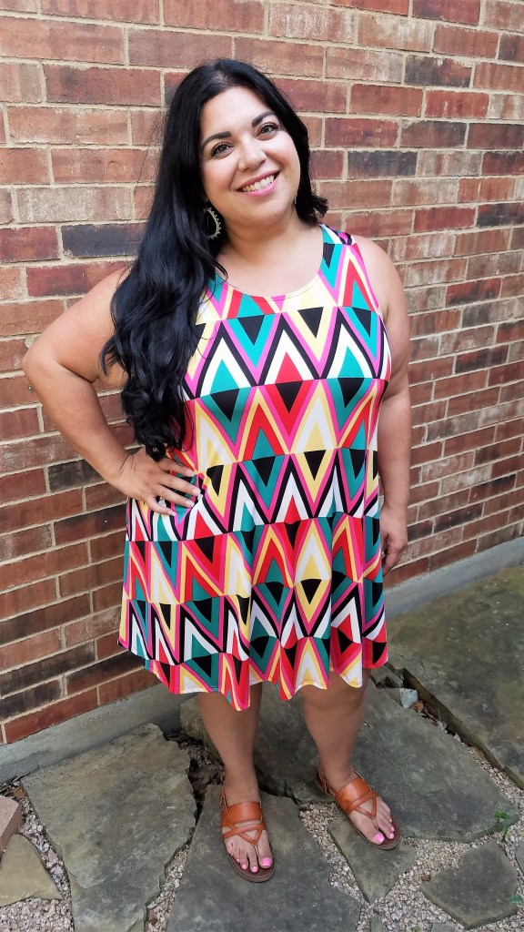 Summer plus size dress