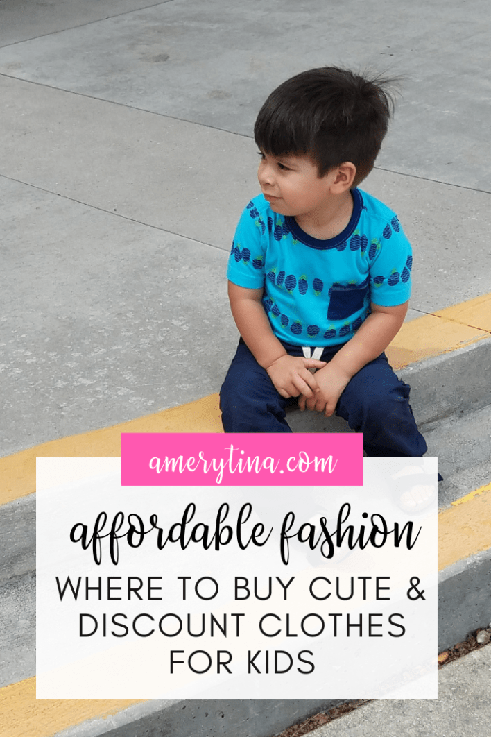 Affordable fashion for toddlers - where to find the best deal on kid's clothes #toddler #kids #fashion #resale #affordable #kidsclothes