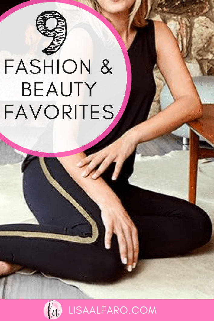 9 of my Favorite Fashion Beauty Items #fashion #beauty #favoritethings #selfcare #shop #style