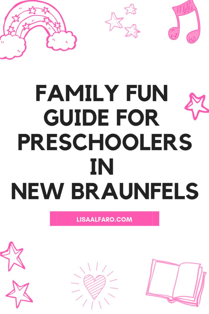 Family fun guide for preschoolers in New Braunfels #summerfun #outdoors #travel #familyvacation #familyfun #newbraunfels
