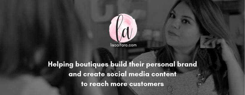 Lisa Alfaro helps boutiques build their brands and create social media