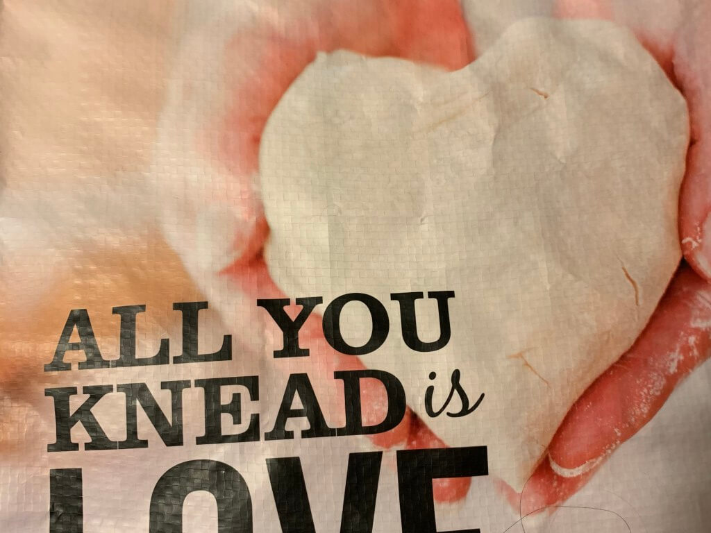 All you knead is love dough heart