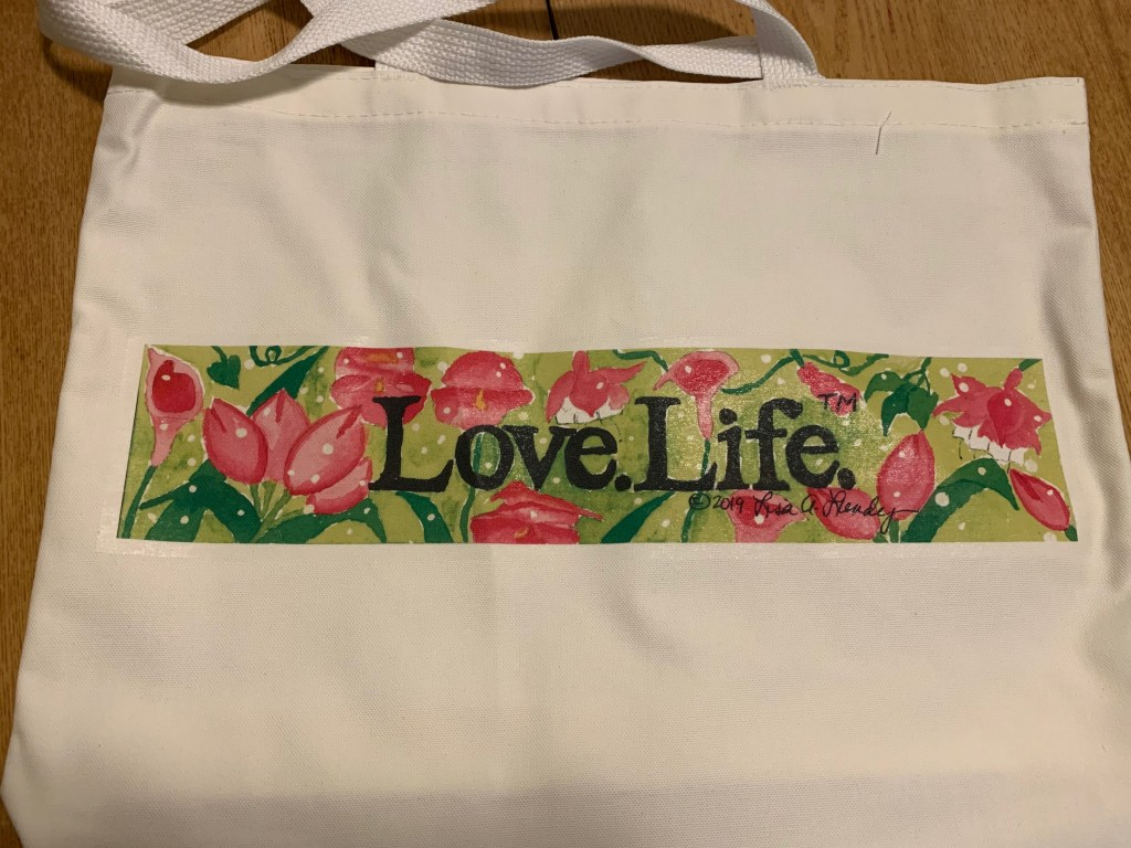 Picture of a Love.Life. Shoulder Tote Bag