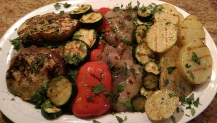 Grilled Vegetables with Fresh Herbs