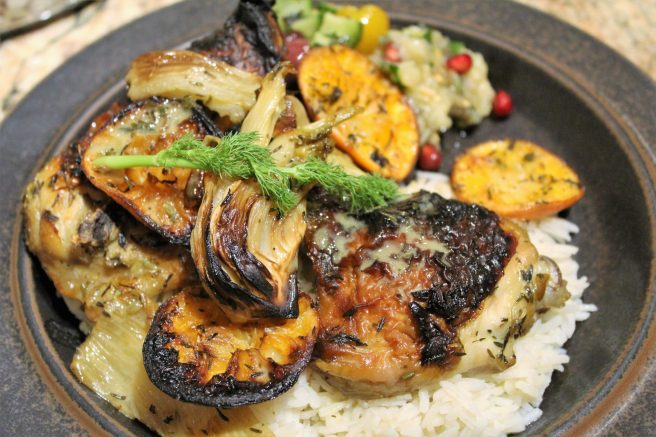 Roasted chicken with clementines4 (2)