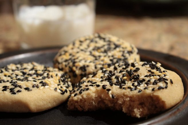 Tahini cookie1