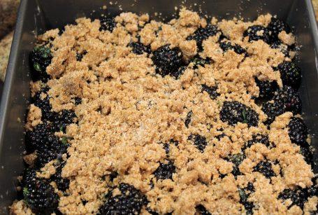 Blackberry Thyme Crisp5