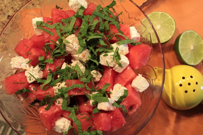 Watermelon and Feta Salad1