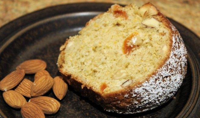 Apricot Almond Cake2
