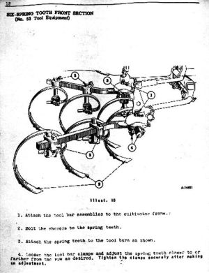 Images of Farmall Cub Owner's Manual Pages