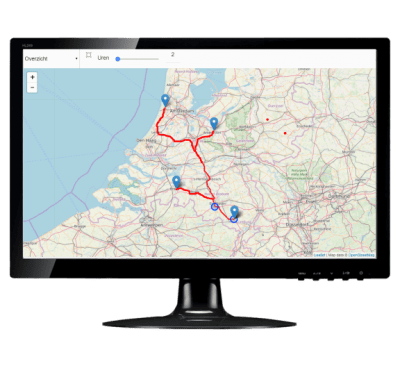 GPS track and trace geintegreerd