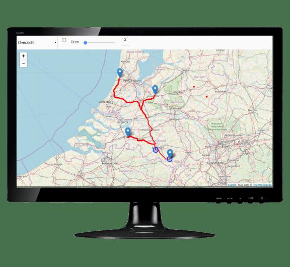 GPS track and trace geintegreerd
