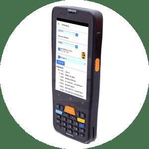 Handige en robuuste barcode scanner Datalogic Memor K