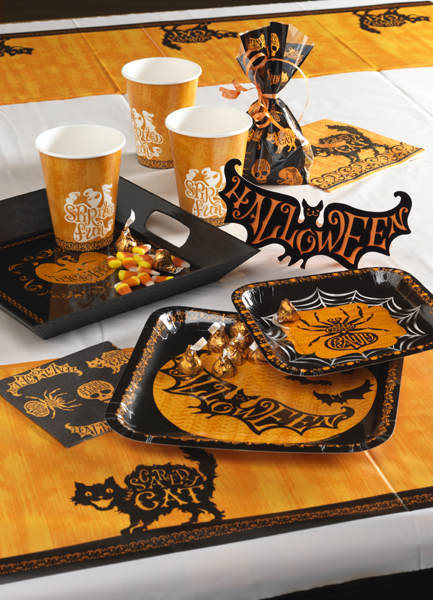 Creative Converting Halloween Table Set